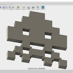 Download free STL space_invader3, 3DME