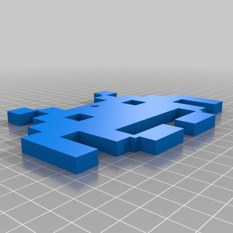 91e13d2eb7059264928948b3e6a5a66a_display_large.jpg Download free STL file space_invader • Model to 3D print, 3DME