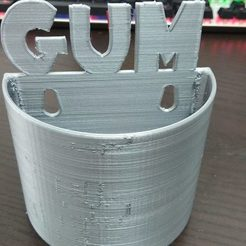 Download free 3D printer files GUM bin, 3DME