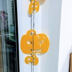 Download free 3D printer files Pumpkin Buntings, 3DME