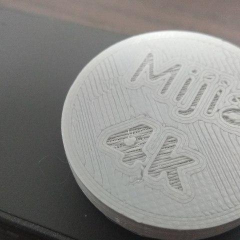 Download free 3D printer templates Xiaomi Mijia 4k camera lens cap, 3DME