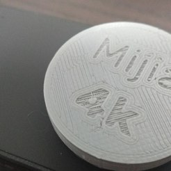 Free 3d printer designs Xiaomi Mijia 4k camera lens cap, 3DME