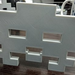 Free 3d print files space_invader2, 3DME