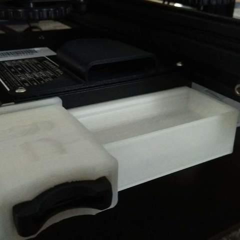 Télécharger fichier impression 3D gratuit Ender 3 Support de chargement frontal pour carte SD, 3DME