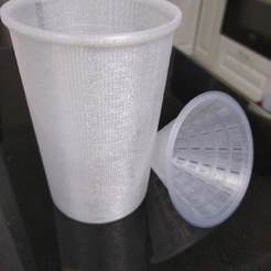 Free STL Cup for fruit fly trap / Fruchtfliegen fänger, 3DME
