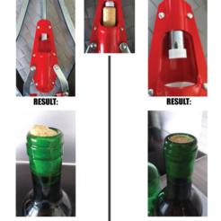 Descargar archivos STL gratis Taponadora de corcho para vino, 3DME