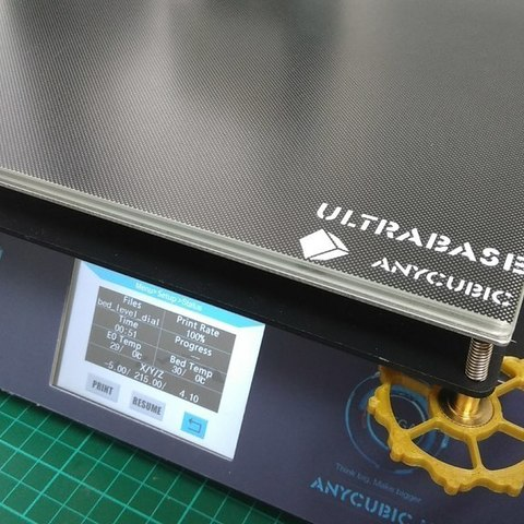 Bed level dial for i3 MEGA printer