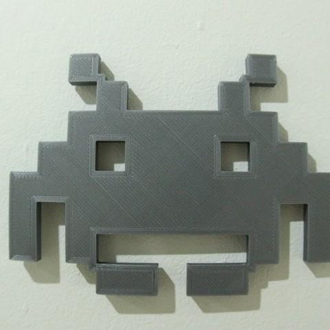 a0207e423b0d39dd9a038c7a577ec4f3_display_large.JPG Download free STL file space_invader • Model to 3D print, 3DME