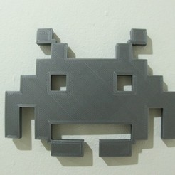 Download free 3D print files space_invader, 3DME