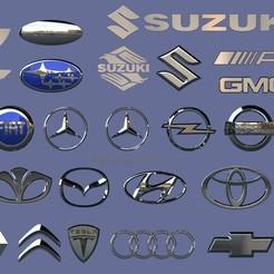 untitled.590.jpg Télécharger fichier STL 27 logo de la voiture • Objet imprimable en 3D, madarocsi