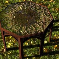 1.jpg Download STL file islamic table • 3D print template, madarocsi