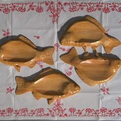 untitled.133.jpg Télécharger fichier OBJ poisson assiette en bois • Objet pour imprimante 3D, madarocsi