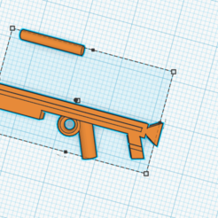 Download free 3D printing designs Weapon for layman's dolls, kokeangeljorge1011