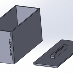 Download 3D printing templates Boite a thé / Box of the, Next3DCreations
