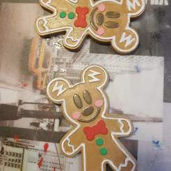 received_3371707879621380.jpeg Download STL file Mickey gingerbread gingerbread disney disneyland paris DLP noel • 3D printing model, cami30