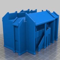 Runaway Island.png Download STL file Runaway Island Christmas Village House • 3D print model, jmsdwh