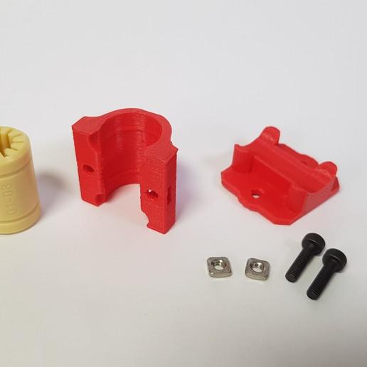 20191207_120156.jpg Download STL file RJMP 01-08 Igus Holder for Prusa i3 MK3 • 3D printer design, mill0maker