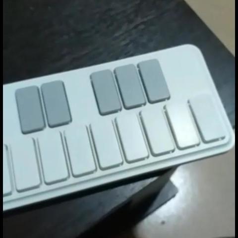 3D printer models Spare key Midi usb controller Korg NanoKey2, RoAlGe