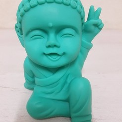 3D printer files Baby Budda Peace, RoAlGe