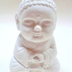 Modelos 3D Bebé Budda Sabiduría , Unil