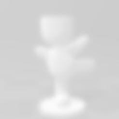 3D print files Ballet Flowerpot, RoAlGe