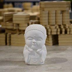 Télécharger STL Bébé Bouddha Bonheur, RoAlGe