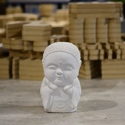 STL file Baby Buddha Happiness, RoAlGe