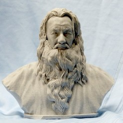 Download free 3D printing designs Gandalf, rwyoung2