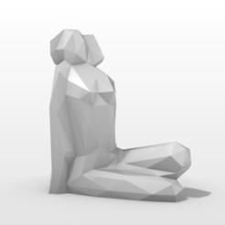 pose 1.jpg Download 3DS file Female Pose • 3D print design, formforge
