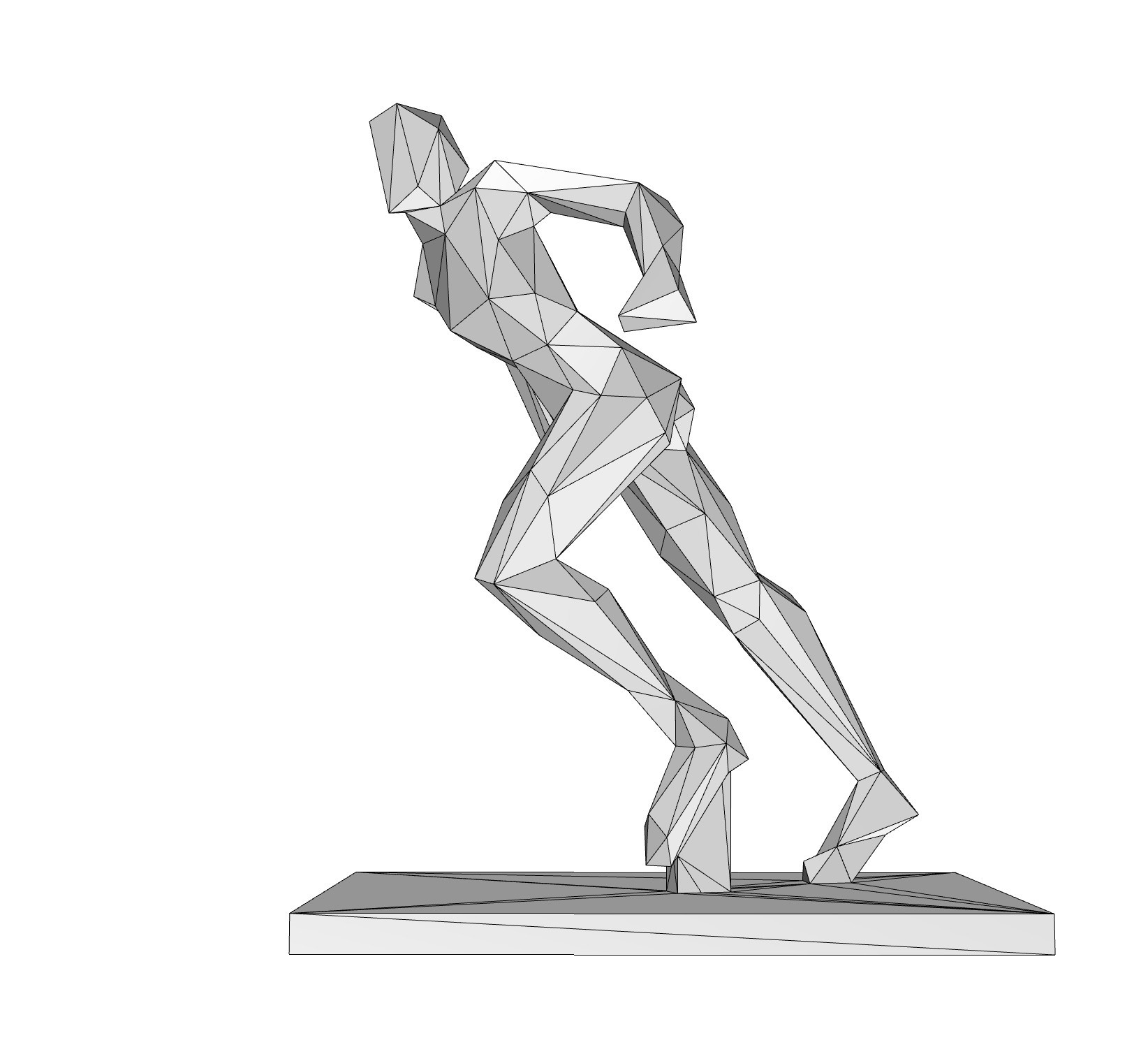 7.jpg Download 3DS file woman pose • 3D printing object, formforge