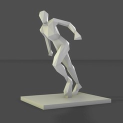Download free 3D printer designs woman pose, formforge