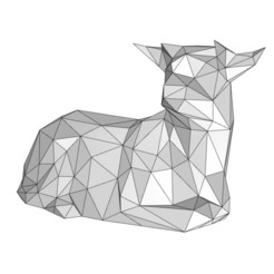 calf 4.jpg Download 3DS file Calf • Template to 3D print, formforge