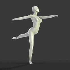 Archivos 3D figura danzante, formforge