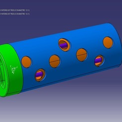 Diseños 3D gratis Distribuidor de juguetes de comida para gatos, matthias27