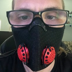 IMG_3826.jpg Télécharger fichier STL Mise à niveau du masque anti-pollution pour Covid • Plan pour impression 3D, jaredpbooth