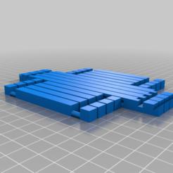 Impresiones 3D gratis Linterna Shoji (versión de fácil montaje), asay008