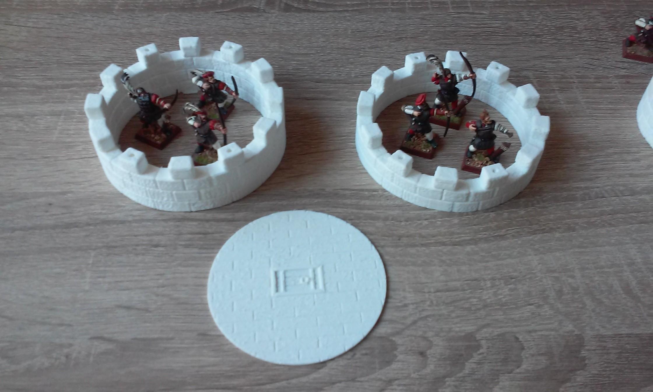 20181009_113023.jpg Download STL file Modular Watchtower - WarGames - Scenary - 3D Printable kit • 3D printable model, SergioGE