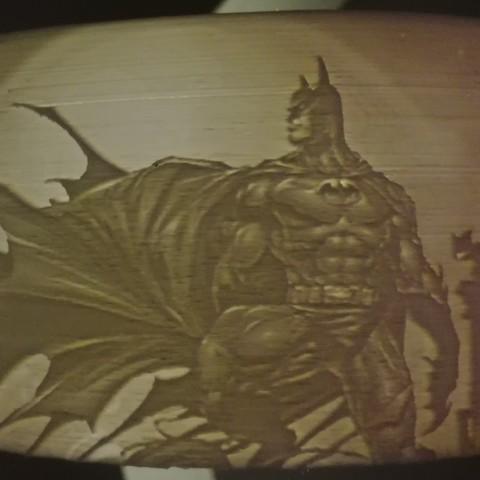 Impresiones 3D Batman Lithophane, ramsesmsr