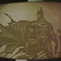 3d printer designs Batman Lithophane, ramsesmsr