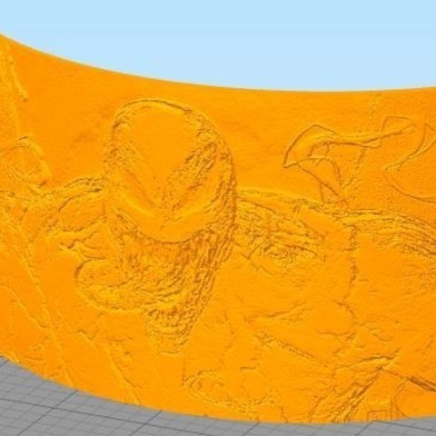 Download 3D printer designs Venom lithophane, ramsesmsr