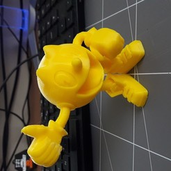 20200112_153737.jpg Télécharger fichier STL Pac Man 2014 • Design à imprimer en 3D, alban027