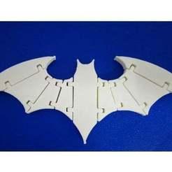 Descargar archivos STL llavero modelo batman articulado, Efe_aydin34