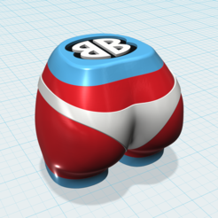 Free 3d model Bootie Shaker™ (Music) • Single Cavity, BOOTIEBABE