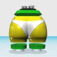 Free 3D printer files Bootie Shaker™ (Music) • Dual Cavity, BOOTIEBABE