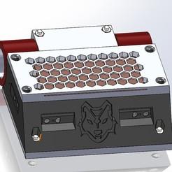 Descargar archivo 3D Robot Mini Sumo, riverosossomiguel