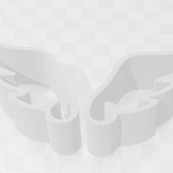 Descargar diseños 3D Cookie cutter wings, riverosossomiguel