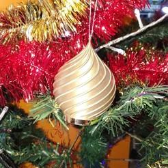 Impresiones 3D gratis luminoso baile de Navidad, kdor