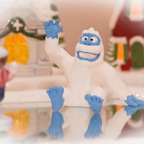 Télécharger modèle 3D gratuit Marmonnez l'abominable monstre des neiges, ProtoParadigm