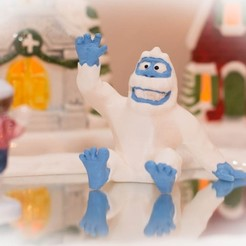 Download free 3D printing models Mumble the Abominable Snow Monster, ProtoParadigm