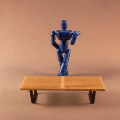 L1080639_display_large_display_large.jpg Download free STL file Nelson Platform Bench • Model to 3D print, TeamTeamUSA